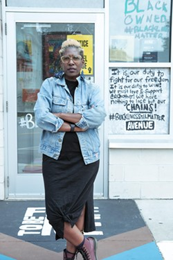 Reenah Golden, founder of The Avenue Blackbox Theatre. - PHOTO BY ERICA JAE