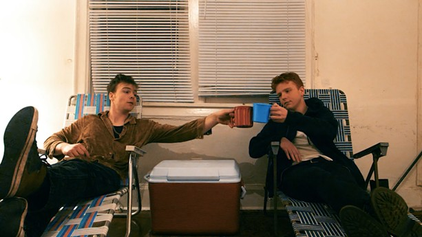 """Austin and Brendan Lake in """"A Pharaoh's Lonely Ego."""" - PHOTO COURTESY CHOCOLATE CHIN PRODUCTIONS"""