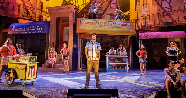"A scene from Geva's 2017 production of ""In the Heights."" - PHOTO BY GOAT FACTORY MEDIA"