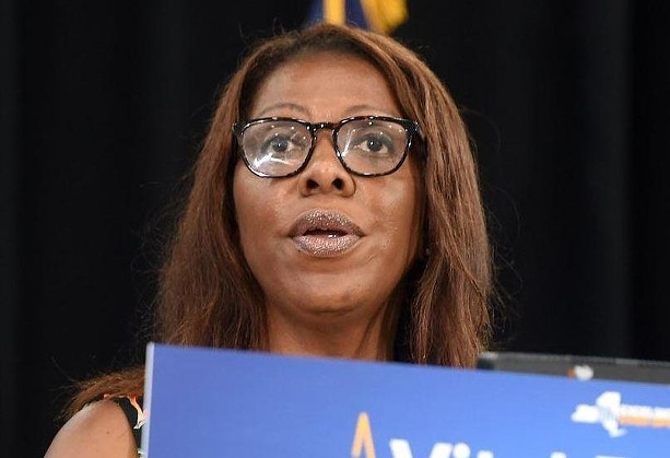 NY Attorney General Letitia James. - FILE PHOTO