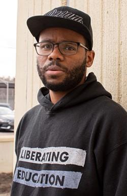 BrandonEv White, aka Bushido Garvey. - PHOTO BY JACOB WALSH