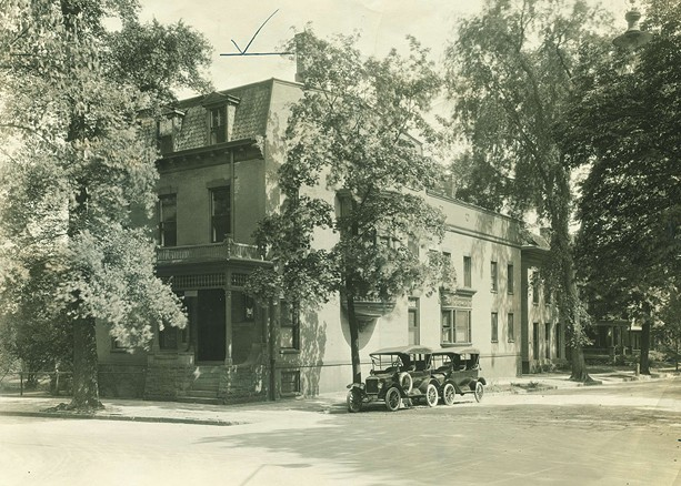 This mansion at 111 Spring Street formerly served as the Locust Club's headquarters. - PHOTO PROVIDED