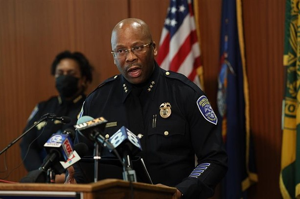 Rochester Police Executive Deputy Chief Andre Anderson. - PHOTO BY MAX SCHULTE