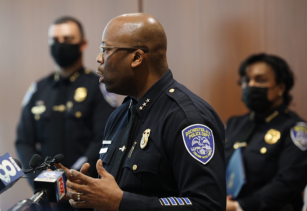 Executive Deputy Chief Andre Anderson. - CREDIT MAX SCHULTE / WXXI NEWS