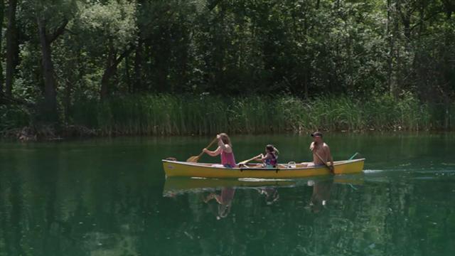 """A scene from """"Haudenosaunee Canoe Story,"""" by Rosann Whitebean. - PHOTO PROVIDED"""
