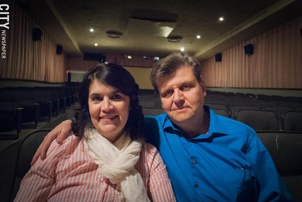 Audrey Kramer and Alex Chernavsky. - PHOTO BY RYAN WILLIAMSON
