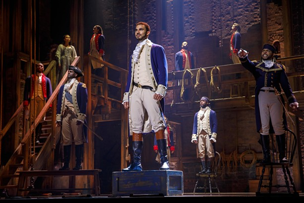 Hamilton has been rescheduled again — this time for November 2022. - PHOTO BY JOAN MARCUS/HAMILTON NATIONAL TOUR