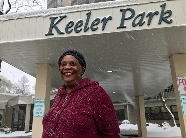 Luvene Ford, president of the tenant association at Keeler Park Apartments and a member of the Rochester Food Policy Council planning team, says education and access to healthy foods are key to improving the health of city residents. - PHOTO BY DAVID ANDREATTA