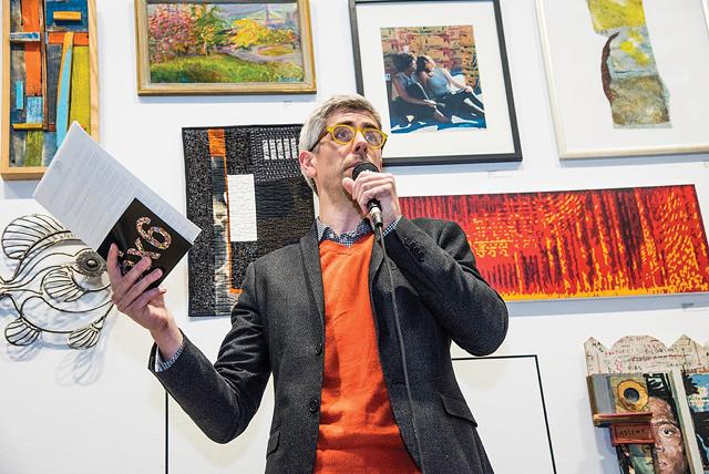 Bleu Cease, executive director of the Rochester Contemporary Art Center. - PHOTO PROVIDED