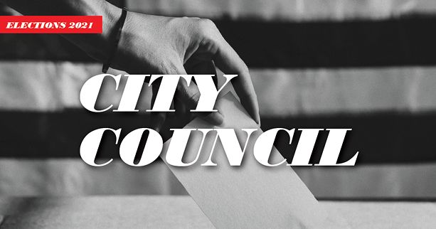 16 Democrats are vying for a seat on City Council in the primary on June 22. - JACOB WALSH