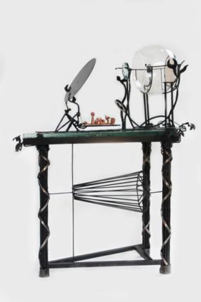 """One of Barron's """"Place Projector"""" sculptures. - PHOTO PROVIDED"""