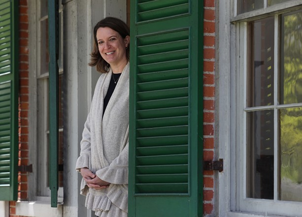 Becky Wehle is the CEO of the Genesee Country Village & Museum. - PHOTO BY MAX SCHULTE