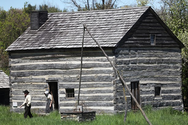 """Genesee Country Village & Museum is a """"living museum"""" that depicts the lives of western New York's early settlers. - PHOTO BY MAX SCHULTE"""