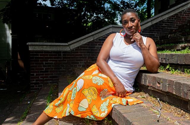 R&B-soul musician Zahyia Rolle. - PHOTO BY JACOB WALSH