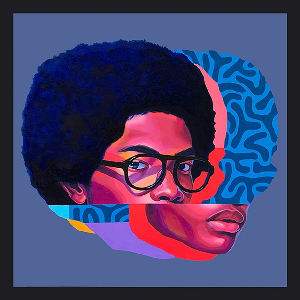 """""""Afro Blue"""" by Brittany Williams. - PHOTO PROVIDED"""