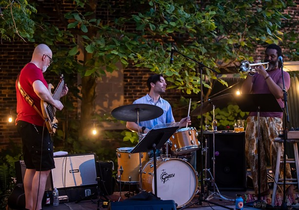 Herb Smith & Freedom Trio perform at Abilene on June 5, 2021. - PHOTO BY AARON WINTERS