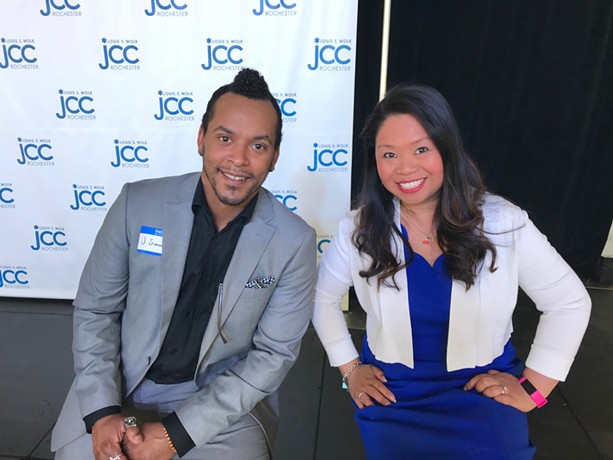 """J. Simmons and Jennifer Galvez Caton will co-star in JCC CenterStage's """"Love Letters"""" on Sunday, June 27. - PHOTO PROVIDED"""
