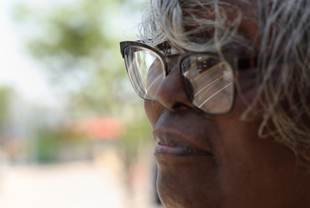 Debbie Smith, president of the Edgerton Area Neighborhood Association. - PHOTO BY MAX SCHULTE