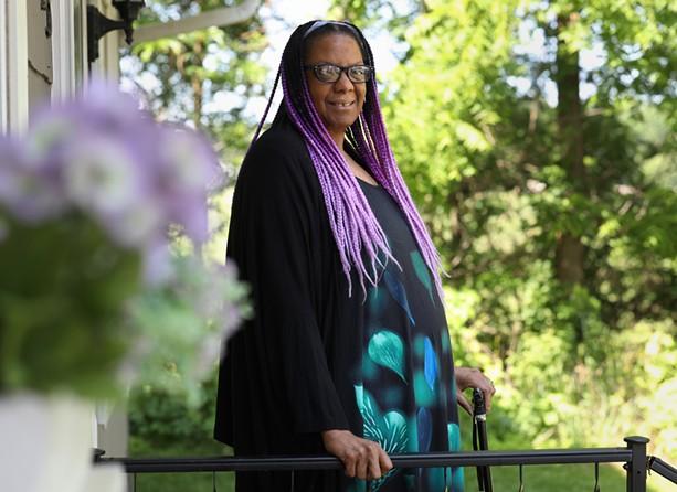 LeeAnne Valentine says Rochester's Black deaf community is small but accessible, and wants to be sure it is not overlooked. - PHOTO BY MAX SCHULTE