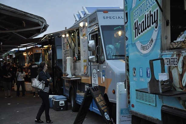 The Rochester Public Market's Food Truck Rodeo is back after a year's hiatus. - PHOTO BY KELLY MCBRIDE, ROCHESTER PUBLIC MARKET