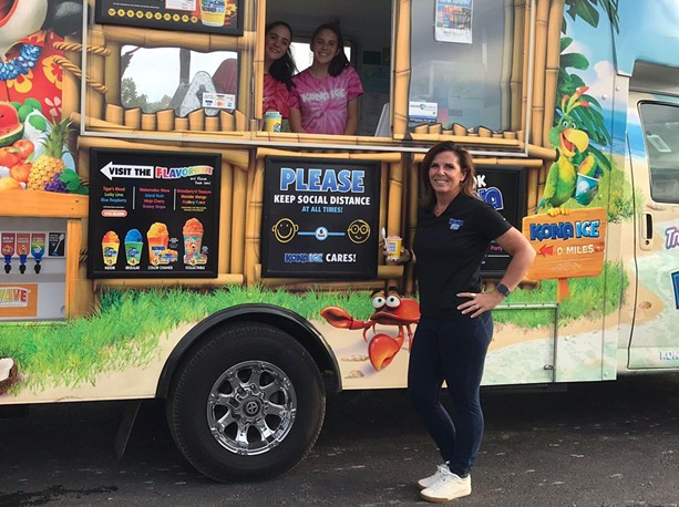 Nicole Nitti is the owner of KONA Ice of Genesee Valley - PHOTO BY NOELLE E. C. EVANS