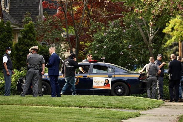 State Police raided the home of Mayor Lovely Warren on Wednesday, May 19, 2021. - PHOTO BY MAX SCHULTE
