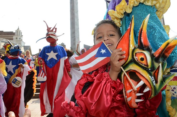 The Puerto Rican parade. - FILE PHOTO