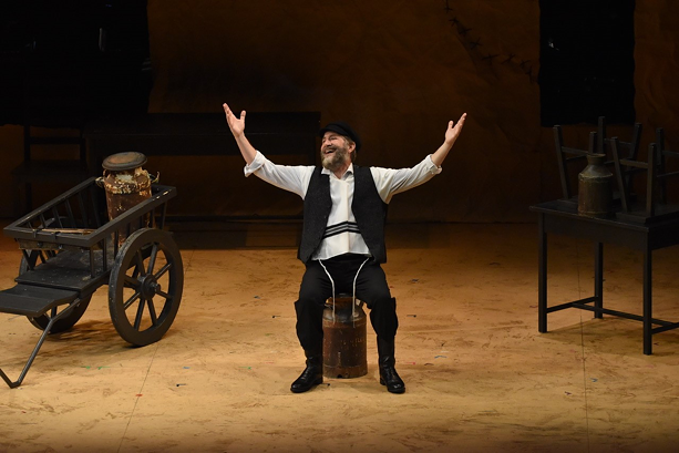 Bruce Sabath in 'Searching For Tevye.' - PHOTO PROVIDED