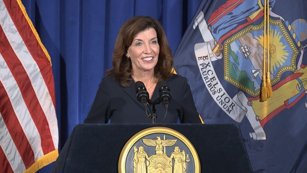 Kathy Hochul will become the 57th governor of New York. - PROVIDED