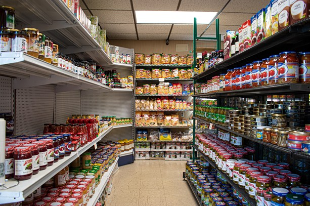 The aisles at Dybowski Authentic Polish Market are filled with Polish foods and ingredients and has drawn customers from as far as Buffalo and Utica. - PHOTO BY JACOB WALSH