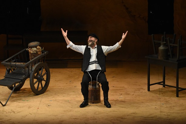 """Rochester native Bruce Sabath, shown here on Broadway in """"Fiddler on the Roof, in Yiddish,"""" stars in """"Searching for Tevye"""" at JCC CenterStage in October. - PHOTO PROVIDED"""