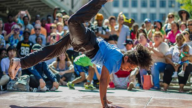 The urban-dance competition Fringe Street Beat will be at Martin Luther King Jr. Park on Sept. 18 - PHOTO PROVIDED