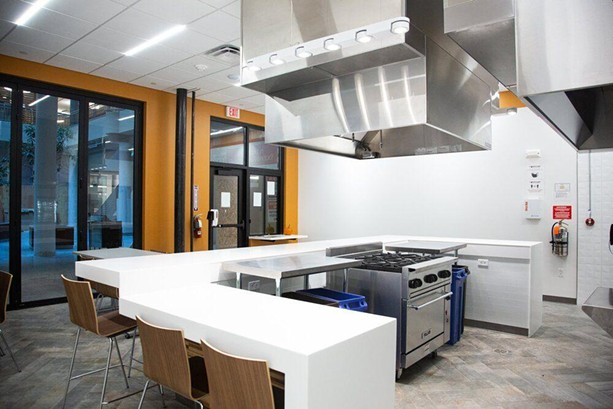 The Commissary at Mercantile on Main is used by food-based startup companies and is looking to expand. - PHOTO PROVIDED
