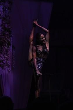 "Acrobatics abound in ""Cirque du Fringe: AfterParty."" - PHOTO BY ASHLEIGH DESKINS"