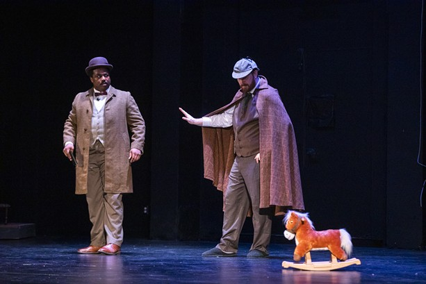 """KeyBank Rochester Fringe Festival's """"Sherlock Holmes: The Loss at Whitechapel,"""" performed on Sept. 20, 2021 at Theater at Innovation Square, combines the classic murder mystery with modern dance. - PHOTO BY MATT BURKHARTT"""