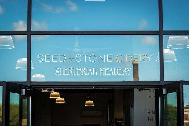 Shertbriar Meadery at Seed and Stone opened in mid-September. - PHOTO BY RYAN WILLIAMSON