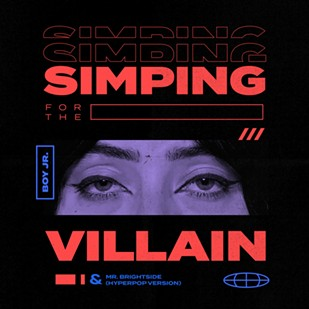 """The cover image for Boy Jr.'s """"Simping for the Villain."""" - IMAGE PROVIDED"""
