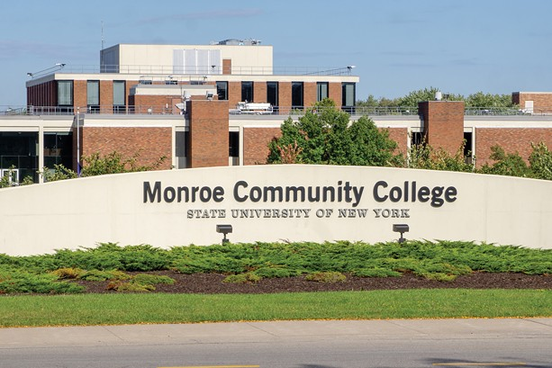 Monroe Community College received about $4.7 million from other counties in 2020. - PHOTO BY GINO FANELLI