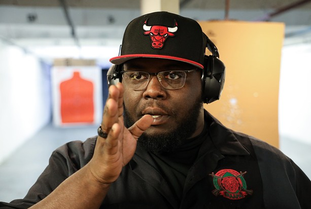 """""""We're not criminals. We're not a gang,"""" said Paul Adell, a co-founder of the Rochester African American Firearms Association. """"We're not any type of militia or military or militant type of group. We're a community-based organization that offers training and education."""" - PHOTO BY MAX SCHULTE"""