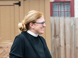 The Rev. Cindy Rasmussen of St. Mark's and St. John's Episcopal Church. - PHOTO BY JACOB WALSH