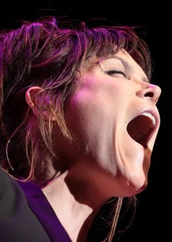 Beth Hart opened for Gary Clark Jr. in Kodak Hall on Tuesday, June 23. - PHOTO BY FRANK DE BLASE