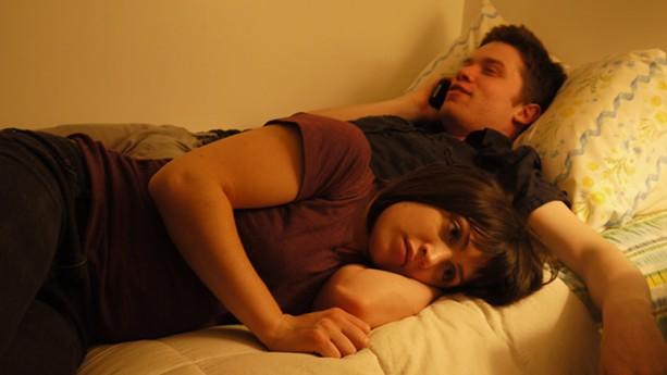 "Tallie Medel and Sky Hirschkron in Dan Sallitt's ""The Unspeakable Act."" - PHOTO PROVIDED"