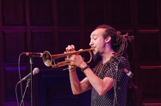 Theo Croker performed in Kilbourn Hall on Thursday, June 25. - PHOTO BY MARK CHAMBERLIN