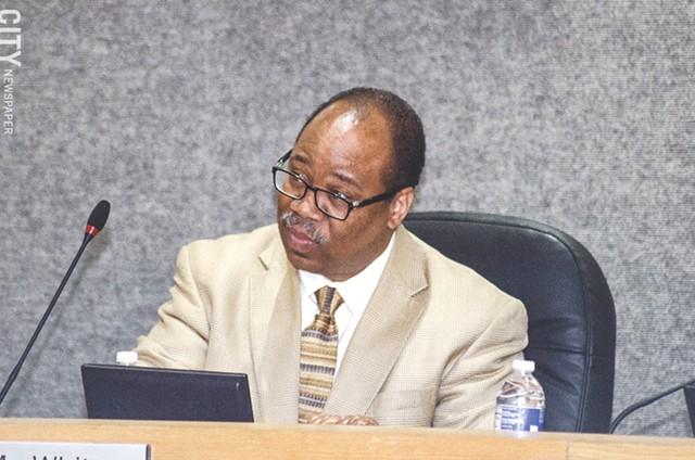 School board President Van White. - PHOTO BY MARK CHAMBERLIN