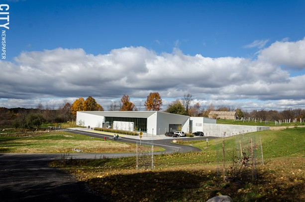 The new Seneca Art & Culture Center in Victor. - PHOTO BY MARK CHAMBERLIN