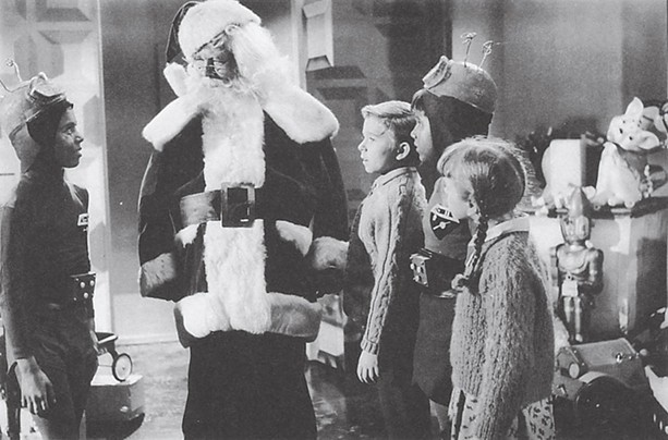 Santa Claus conquers the Martians - PHOTO COURTESY SONY PICTURES