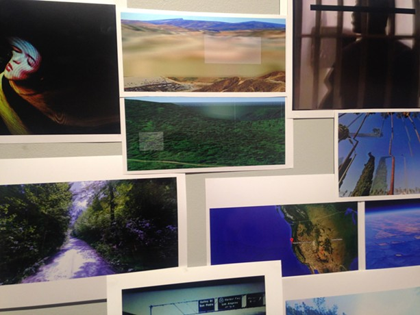 """Luna Galassini's work-in-progress project, """"Monitored or Recorded"""" is hosted at Visual Studies Workshop's Project Space through February 19. - PHOTO PROVIDED"""