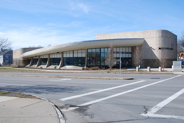 The Phyllis Wheatley Library on Clarissa Street in Rochester. - PHOTO BY CHRISTOPHER M. BRANDT