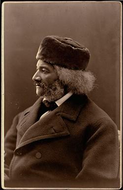 """Frederick Douglass, January 26, 1874,"" by J. H. Kent. - PHOTO COURTESY GEORGE EASTMAN MUSEUM"