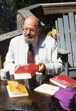 Allen Ginsberg at Writers & Books' Gell Center. - PROVIDED PHOTO